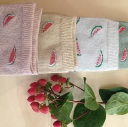 chaussettes-accessoires-accessoiremodefemme-pasteque-madeinfrance-limousin-clisson-vignoblenantais-clisson