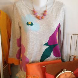 fleurs-orange-sweet-whitestuff-nicethingspalomas-bijoux-boucledoreille-clisson-melocotonboutique
